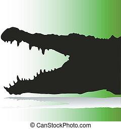 Krokodilvektoren