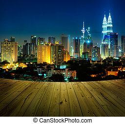 Kuala klumpur malaysie.