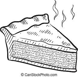 Kuchen-Sketch