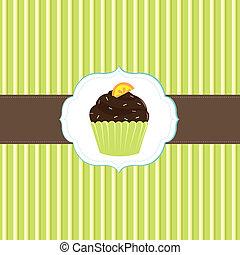 Kuchenkarten-Schrift
