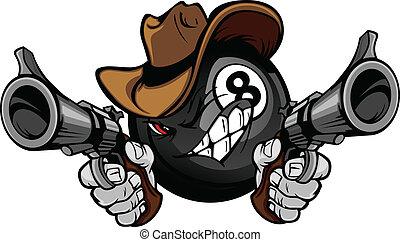 kugel, acht, teich, shootout, billard