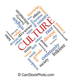 kultur, begriff, wort, wolke, winklig