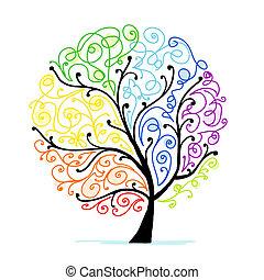 Kunstbaum für dein Design