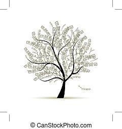 Kunstbaum für Ihr Design.