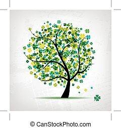 Kunstbaum schön für Ihr Design.