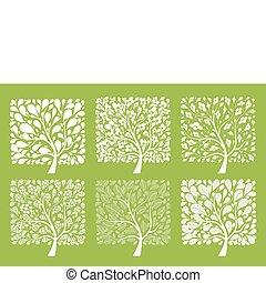 Kunstbaumsammlung für dein Design
