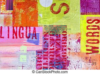 kunstwerk, collage