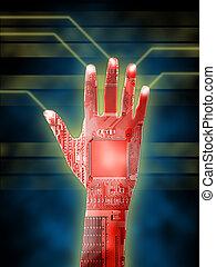 kybernetisch, hand