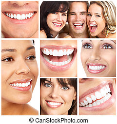 Lächeln und Zähne