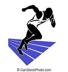 Läufer-Sprint