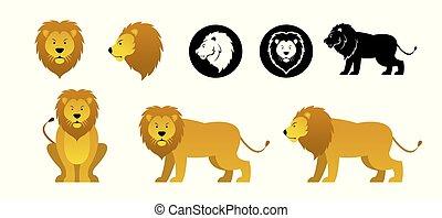 Löwe-Vektor eingestellt.