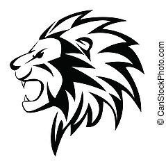 Löwen brüllen