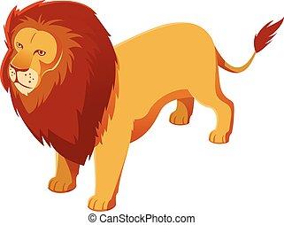 Löwen-Ikone.