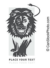Löwen-Laufsymbol