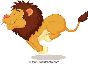 Löwen-Zeichentrickfilm