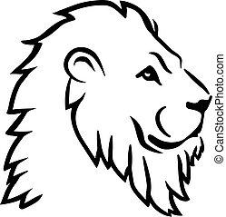 Löwenkopf.