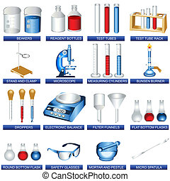 laboratorium, werkzeuge