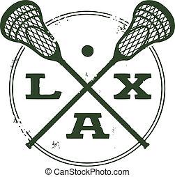 lacrosse, briefmarke, sport, lax