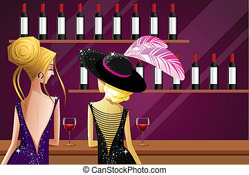 Ladies in Party