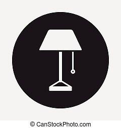 Lampensymbol.