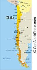 land, chile