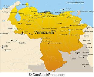 land, venezuela