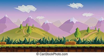 Landscape Vektorgrafik.