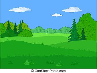 Landschaftsgärtnerin, Sommerwälderin