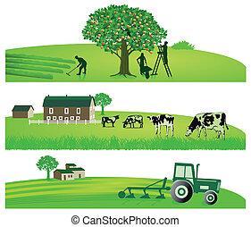 Landwirtschaft und Garten.