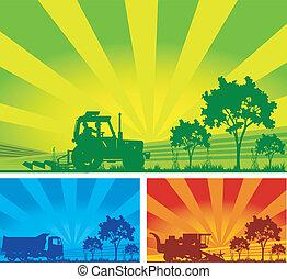 Landwirtschaftliche Maschinen