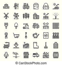 Landwirtschafts-Ikone.