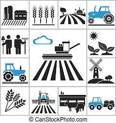 Landwirtschaftssymbole