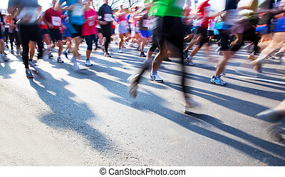 Lauf schnell, Marathon