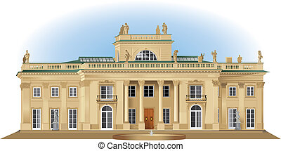 Lazienki Palast