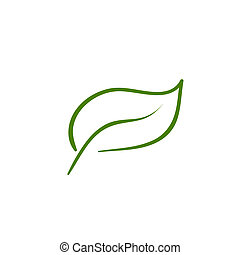 Leaf Natur icon Vektor