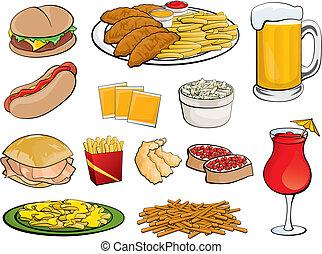 Lebensmittel-Ikonen