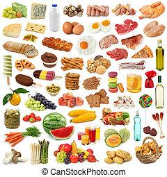 Lebensmittelsammlung