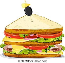 Leckeres Sandwich.