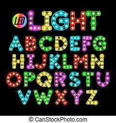 LED-Bandstreifen-Lichtschrift.