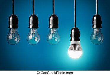 LED Birne.