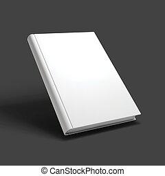 Leeres Buch, Buch, Buch oder Notizbuch.