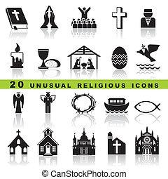 Legt christliche Ikonen auf