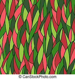 Leicht abstraktes Muster