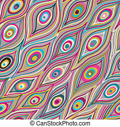 Leicht abstraktes Muster.