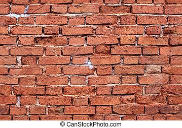 Leichte Backsteinmauer-Stimme
