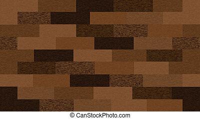 Leichte Holzsprünge. Vector