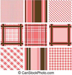 Leichte Muster bilden Struktur