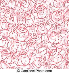 Leichte Rosenmuster, Hintergrund