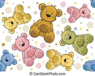 Leichte Teddybären