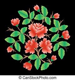 Leichter Blumen Hintergrund